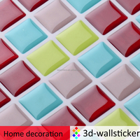 Best DIY accessories self stick 3d gel tile silicon products for kitchen backsplash