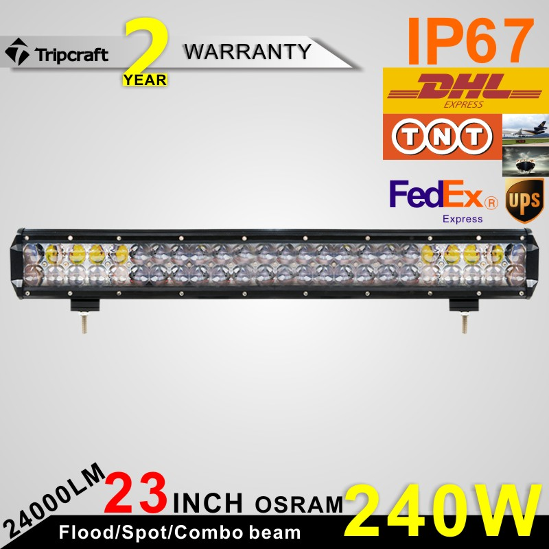 Competitive price Tripcraft 23 inch 4D led light bar car 4WD led headlight bulb
