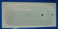 cheap bathtub price enamel steel bathtub with simple design