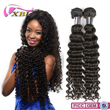 7A Grade Hot Sales Chemical Free virgin brazilian curly deep wave