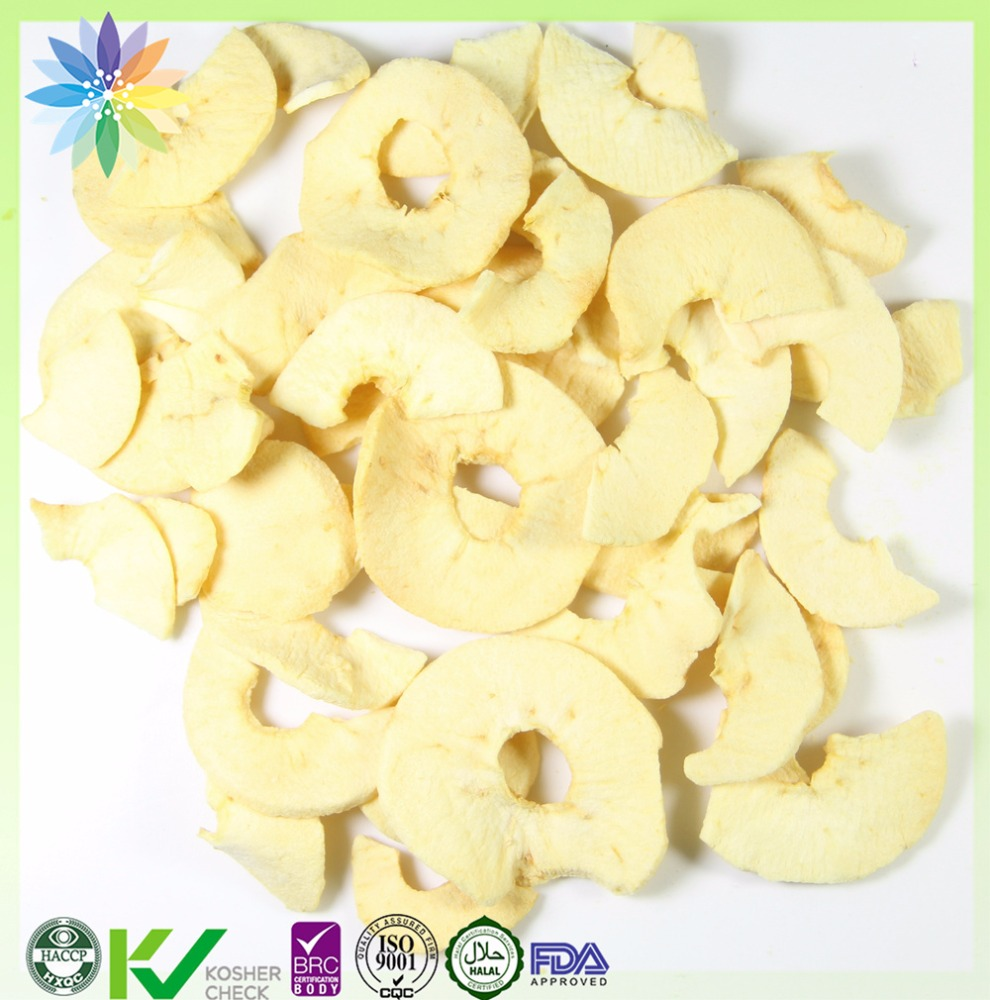 Chinese food distributors freeze dried apple chips