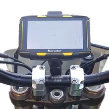 Waterproof IPS Touch Screen Motorcycle Car GPS Navigation NAV Maps System 8G Flash