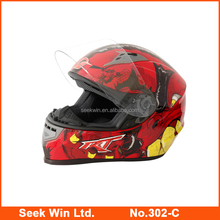 Popular design Full Face Racing Helmet Waterproof Motorcycles Helmet