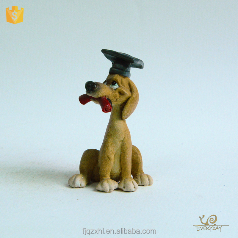 Low Price Decoration China Factory OEM ODM dog Mini Resin Figure Custom Made for Home in Alibaba Store
