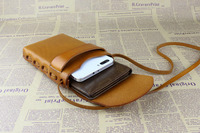 2016 Newest leather cell phone case mobile phone leather bag