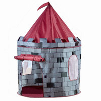 Game Camping Tent Polyester Material Castle Play House For Kid