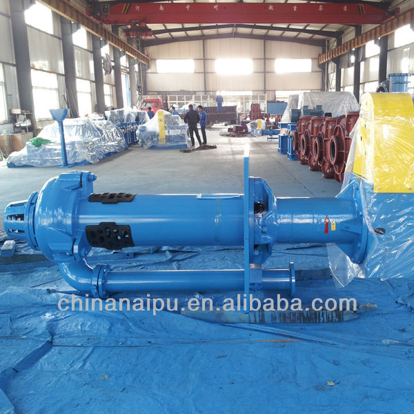 Chinese manufacturer High efficiency rubber impeller centrifugal ebara submersible pump