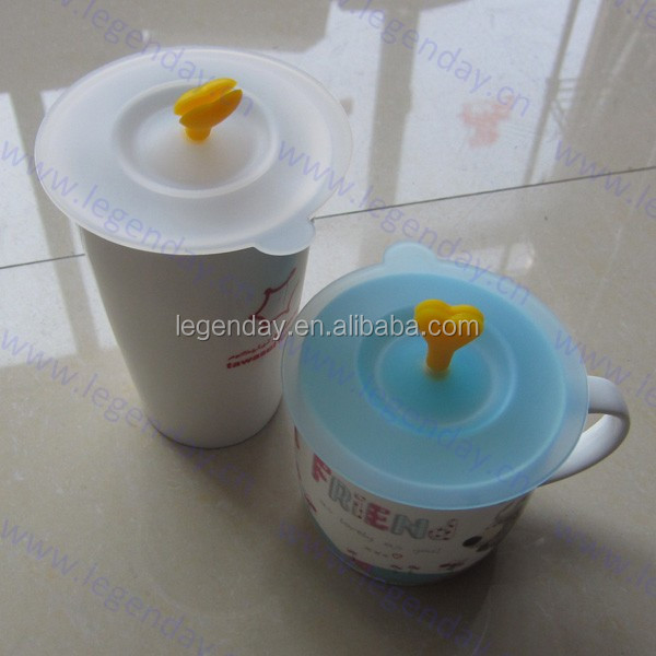 Magic Flower Silicone Cup Cover,All Colors Are Available