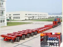 new design multi axle low bed trailer dimensions 70 ton lowboy