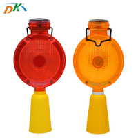 Solar Power Waterproof PC LED Traffic road safety barricade emergency light,spotlight