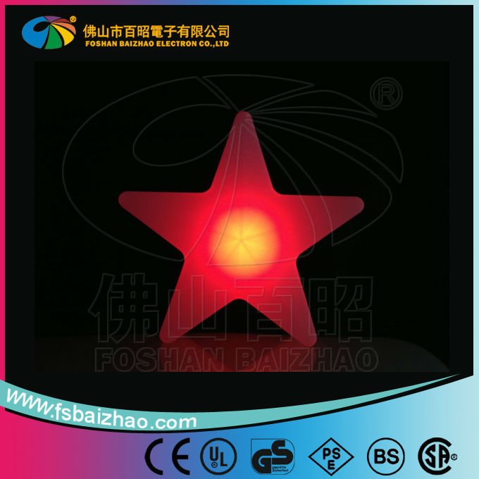 Romantic christmas decorative light little star / color changing led star