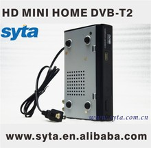 Caja de sintonizador de tv dvb t2 decodificador fta hd receptor digital