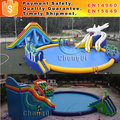 Funny inflatable aqua park with aqua park equipment for sale