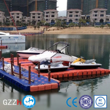 versatile HDPE floating boat jet ski platform for water sports