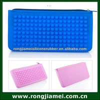 Multifunction Silicone Purse Wallet Glasses Cosmetic Bag Mobile phone Case