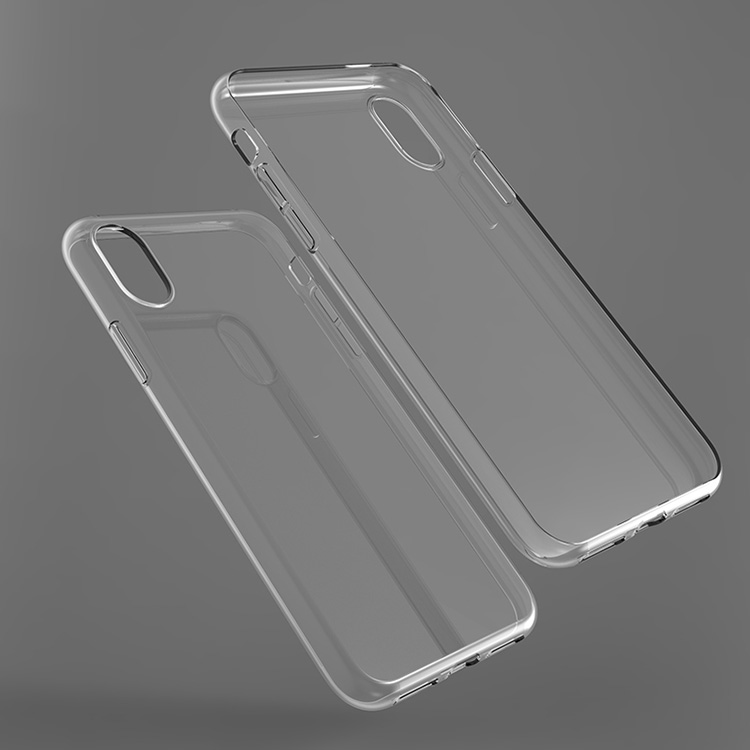 Clear tpu printable phone case cover for iphone X IMD mobile phone case