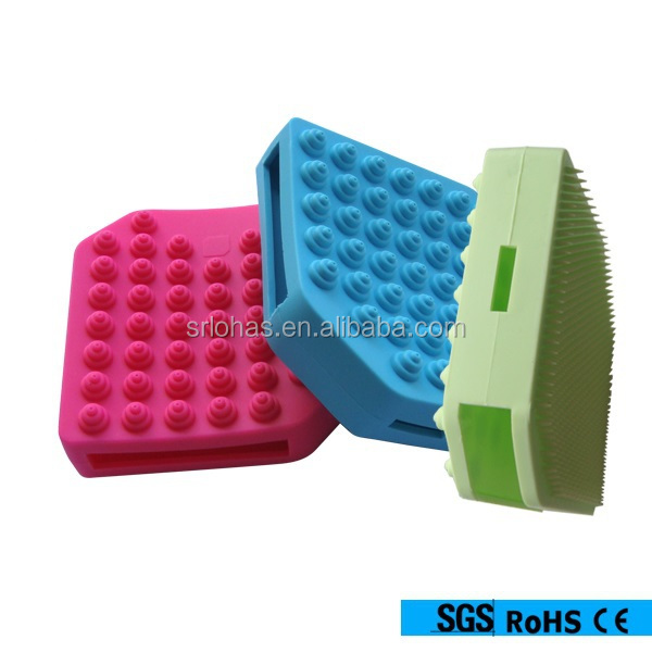 Wholesale deep cleansing facial brush silicone facial brush skin cleansing