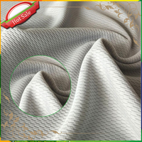Chinese Manufacturer Rayal 4 Way 100% Polyester Stretch Fabric
