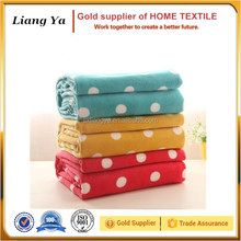Shaoxing county textile cheap price Korean polar fleece blanket