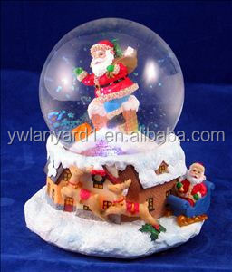 China Factory Direct Christmas Decorating Craft Cristal Ball