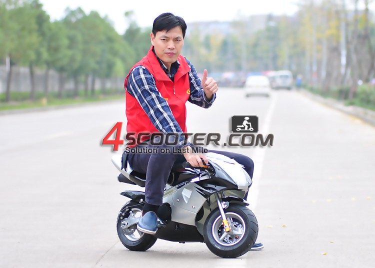 CE certification used pocket bike