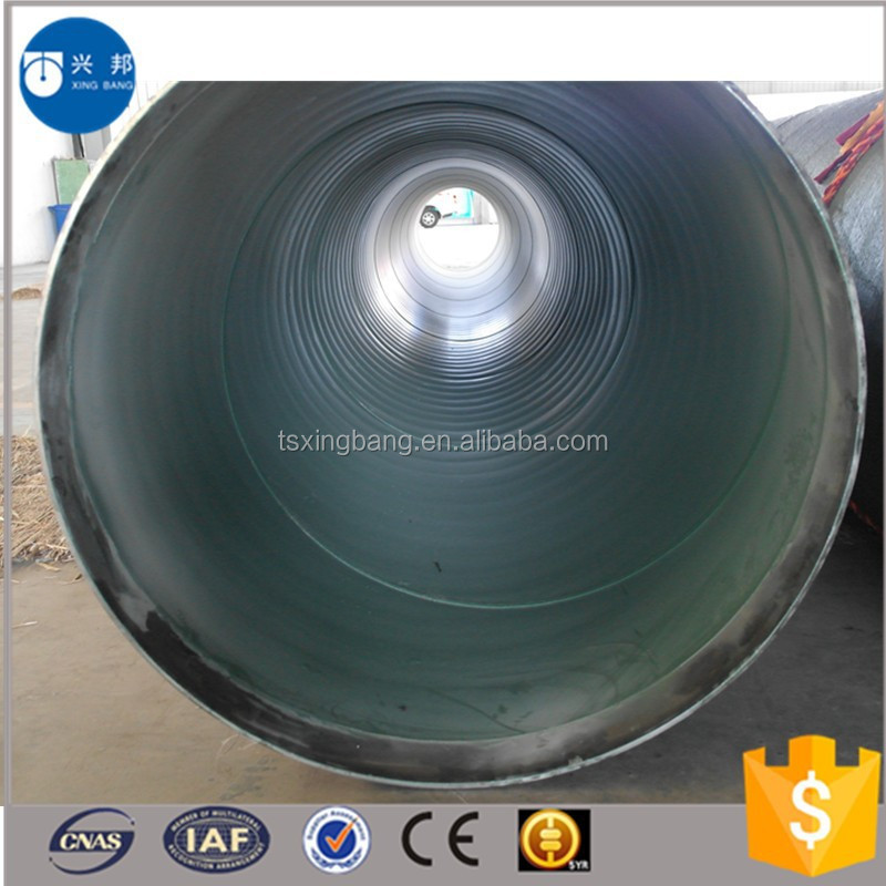 New design anti-corrosive pipe with epoxy coal pitch and fiber cloth for reclaimed water supply