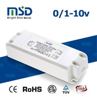 Low Consumption Constant Voltage Dimmable Led Driver No Flash 50W LED Driver 0-10V PWM for Indoor Lighting
