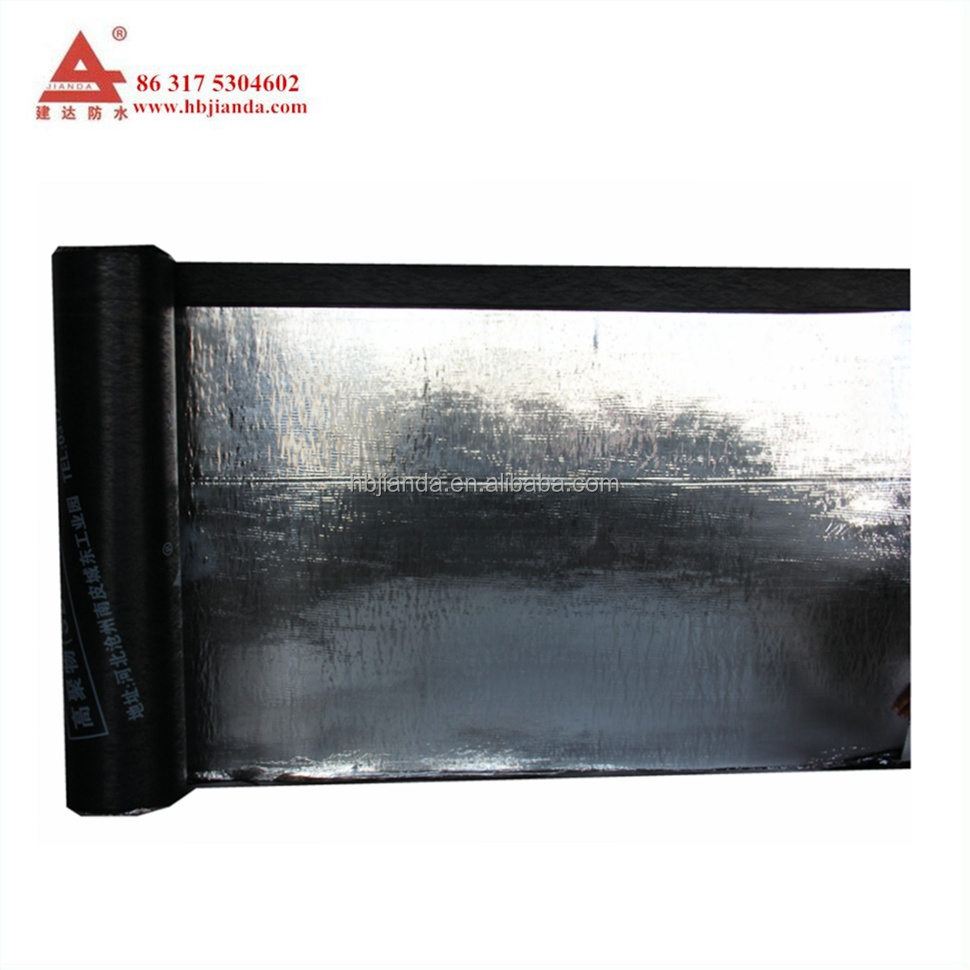 SBS aluminum foil modified asphalt roofing felt
