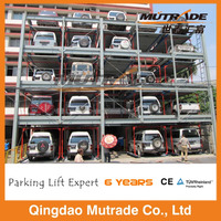 automated vertical stack car parking system