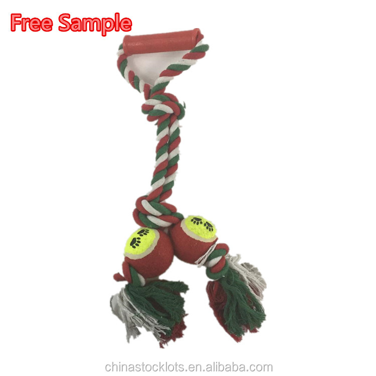 Free sample paypal accepted overstock pet toy rope, closeout dog toy low price