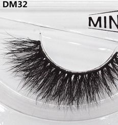 Whosale customer private label 3D Mink Fur Eyelash Individual Mink eyelash