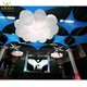 Party decoration led lighting inflatable product inflatable cloud shape balloon