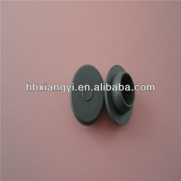 Halogenated butyl rubber stoppers for injection sterile powder 20-B2