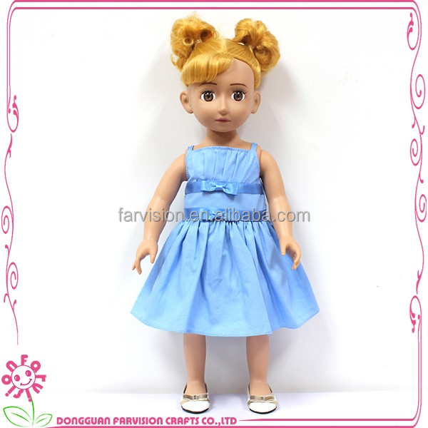 OEM 18 inch silicone child doll size