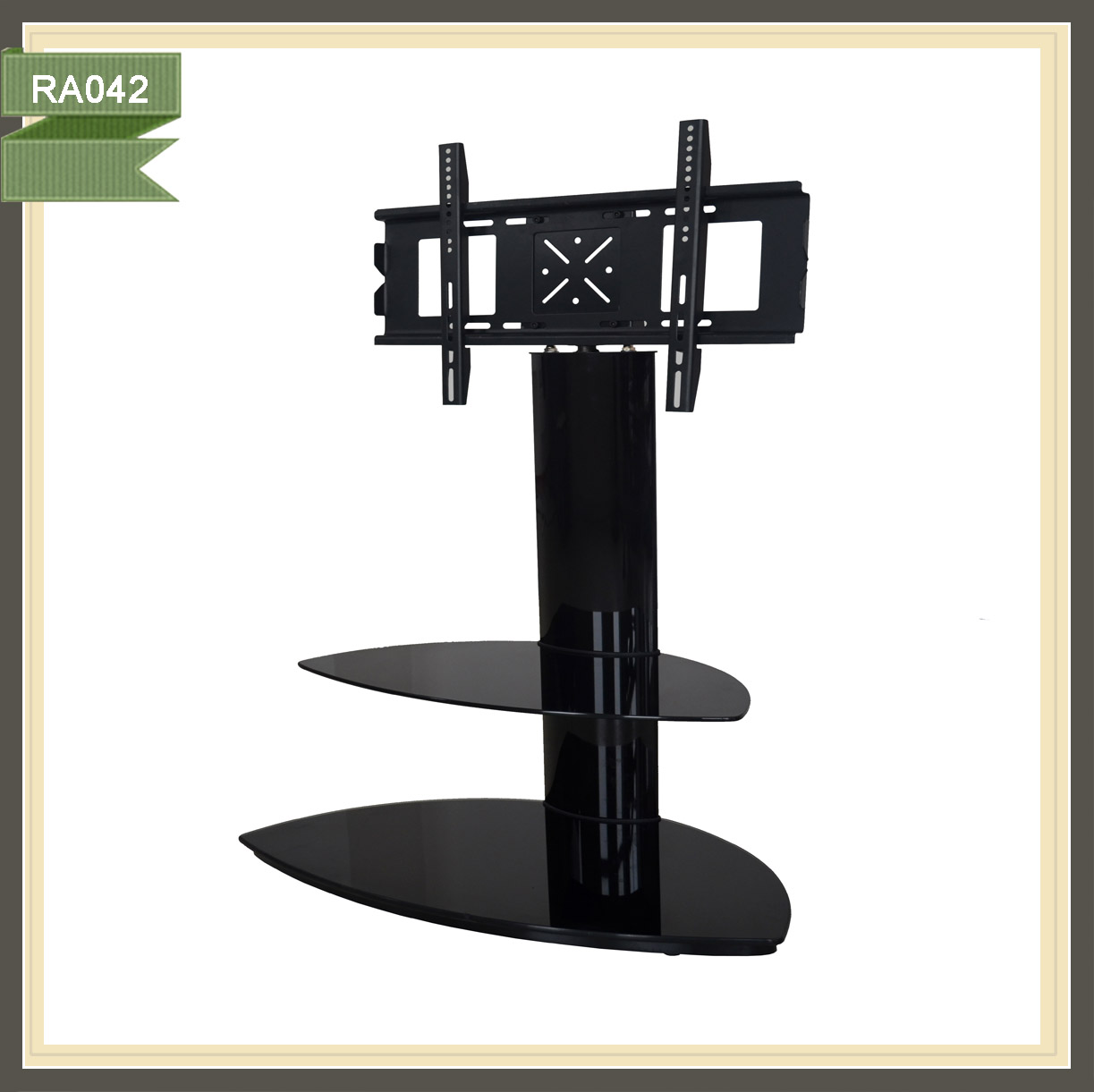 liviing room furniture LCD glass plasma tv stand