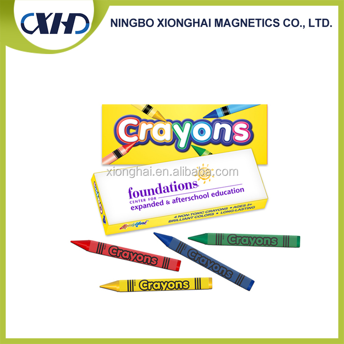 Wholesale products china 4 colors wax crayon for kids