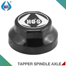 12T 14T 16T Load Durable Black Trailer Axle Parts Hub Cap