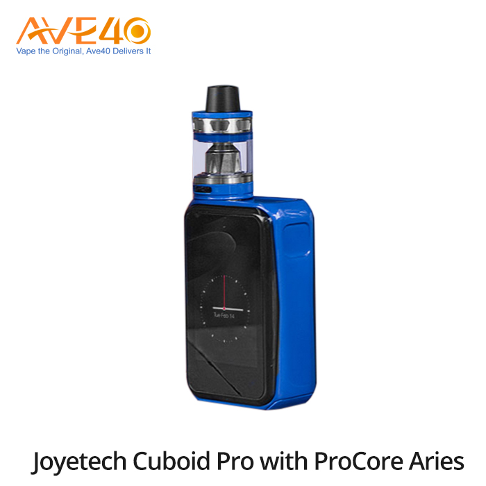 New 2017 Inventions E Cigarette Kit Bottom Feeder Mod Joyetech Cuboid PRO With ProCore Aries Kit From Ave40