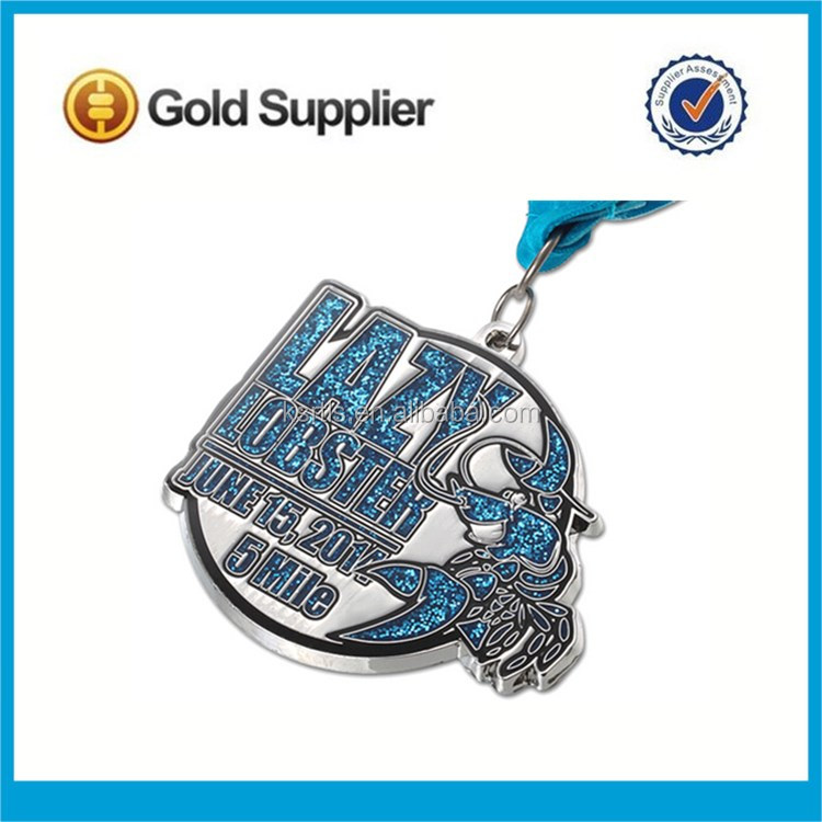 kunshan China New design custom Martial Arts sports award soft enamel gold metal medal