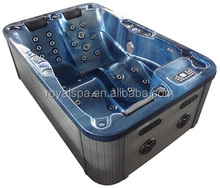 3 People Air Jets Luxury Design Home Relax Free Outdoor Square Hot Tub