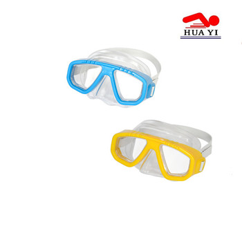 Free underwater small transparent pvc gasket free diving mask