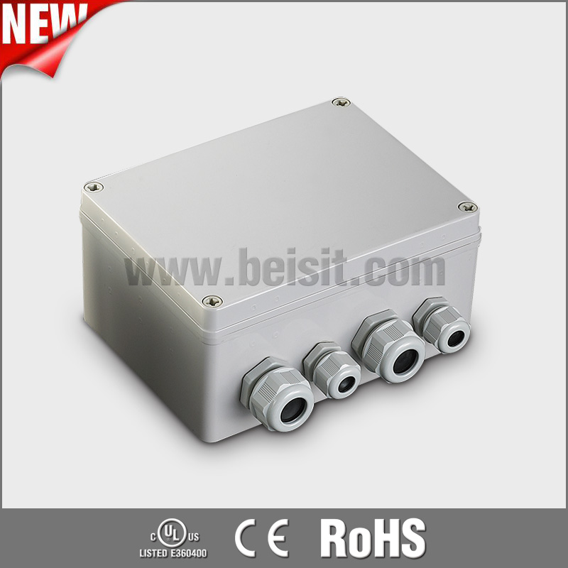 Under pressure ip68 waterproof junction box