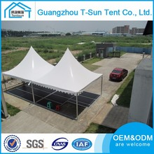 Waterproof Various Event Pagoda Tents Any Size 5x5m Luxury Aluminum Garage Tent