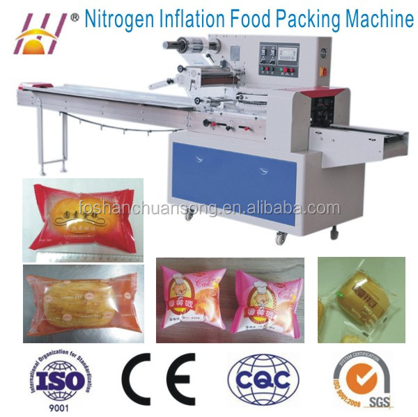 Automatic Modified Atmosphere Packaging Machine for food DCTWB-250D