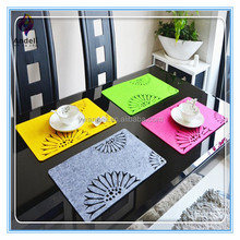 china wholesale Sunflower Felt Placemat for home decor