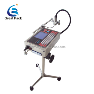 Plastic bottle serial number printing machine