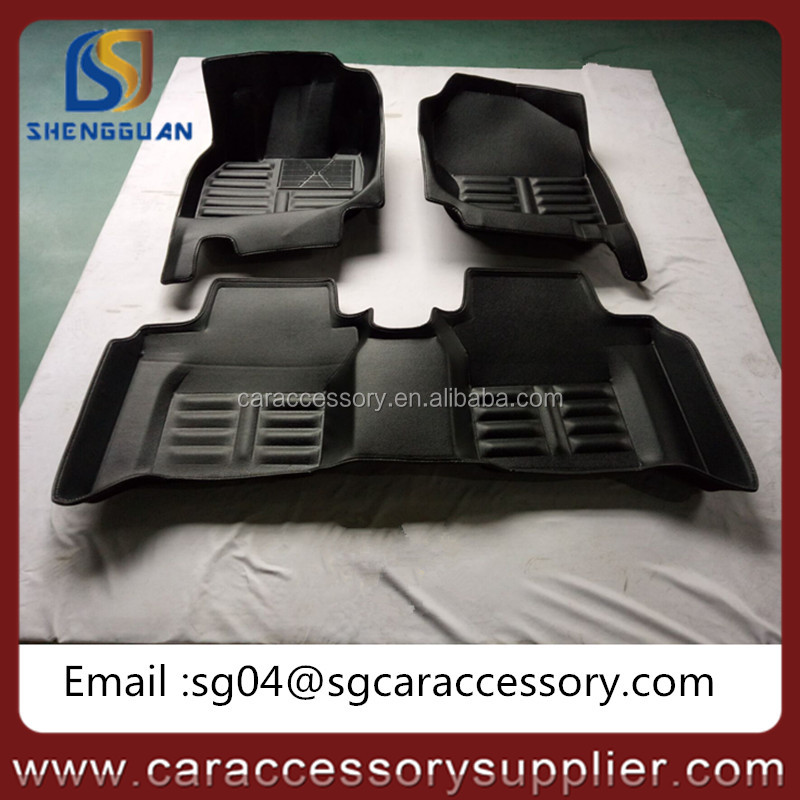 OEM service 5D EVA material car floor mat 6D car mat factory supplier