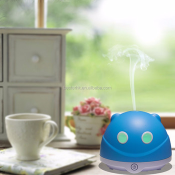 Home Office USB Mini Fresh Air Purifier Waterfall Fragrance Naturally Humidifier