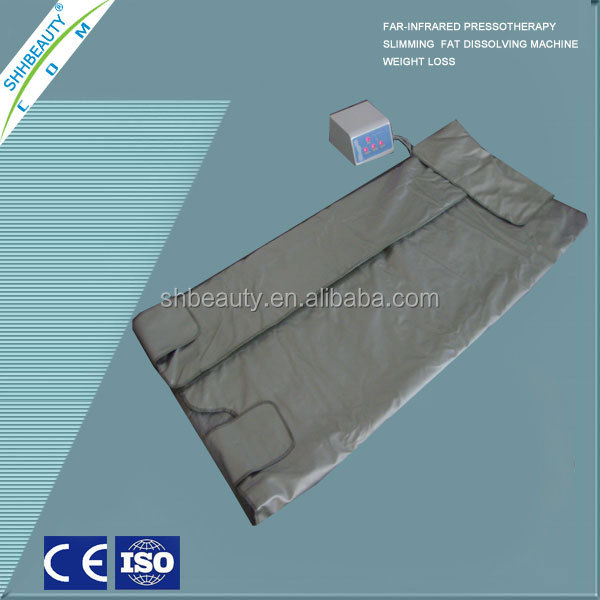Hot promotion far infrared sauna blanket thermal blanket for weight loss