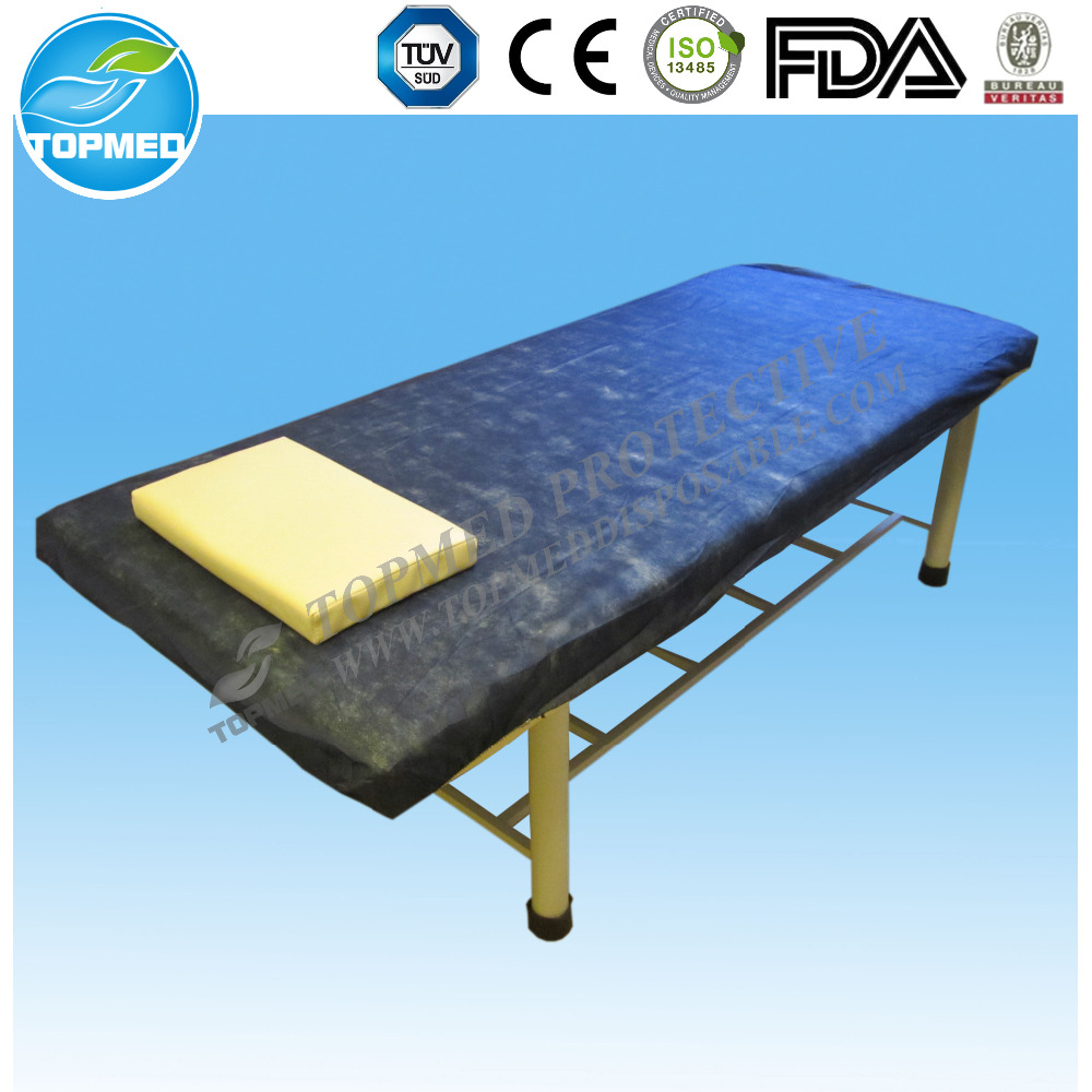 non-woven disposable bed linen for medical use